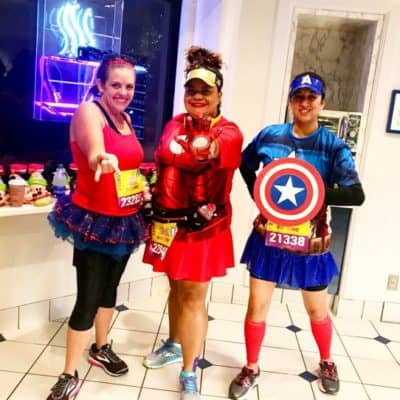 Super Hero Half Marathon Spiderman, Iron Man, Captain America