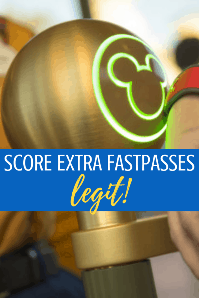 How to score extra fastpasses at Walt Disney World: LEGIT!
