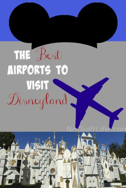 best airports to get to Disneyland