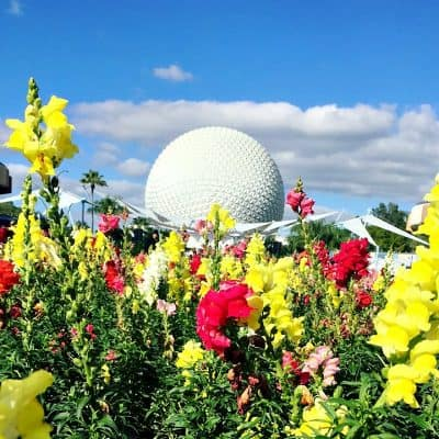 Epcot Spaaceship earth
