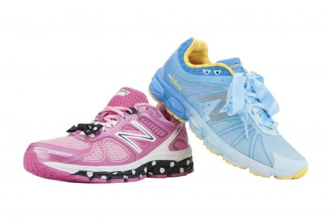 rundisney new balance shoes minnie and cinderella