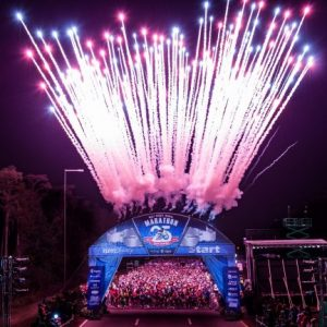 rundisney fireworks at the start