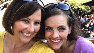 sarah and patty of no guilt disney a runDisney blog