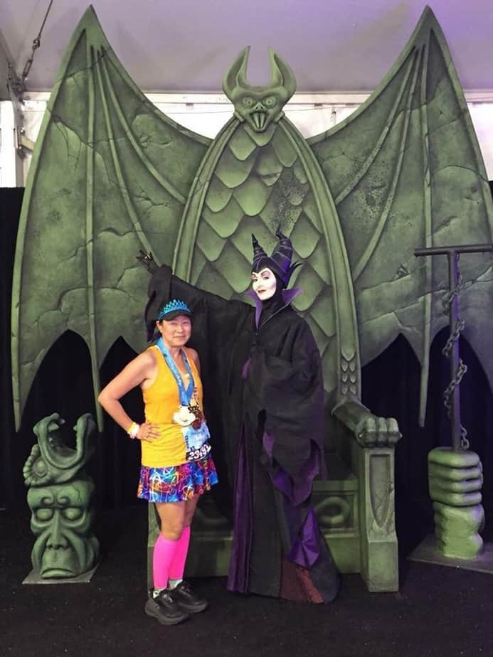Maleficent runDisney race characters