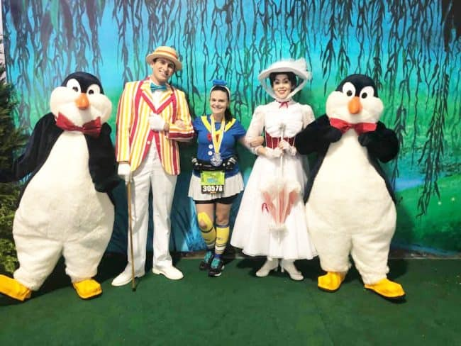 Mary Poppins Bert Penguins race retreat