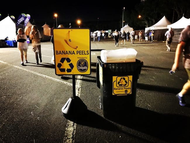 Banana Recycling at runDisney