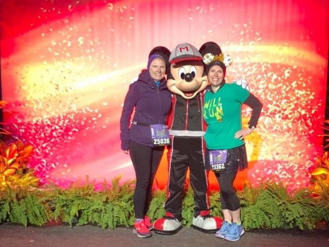 pre-race rundisney character stops marathon weekend