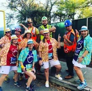 princess 10K parade runners costumes