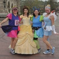 runDisney Character Stops | Princess Half Marathon
