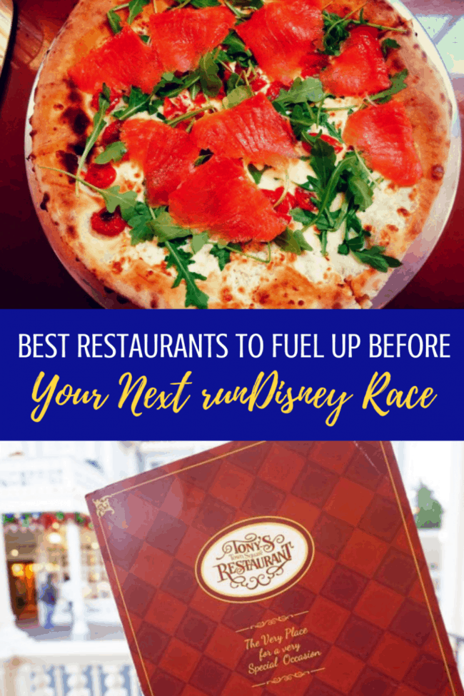 Best Restaurants to Fuel Up for your next runDisney Race. #rundisney #disneyworld