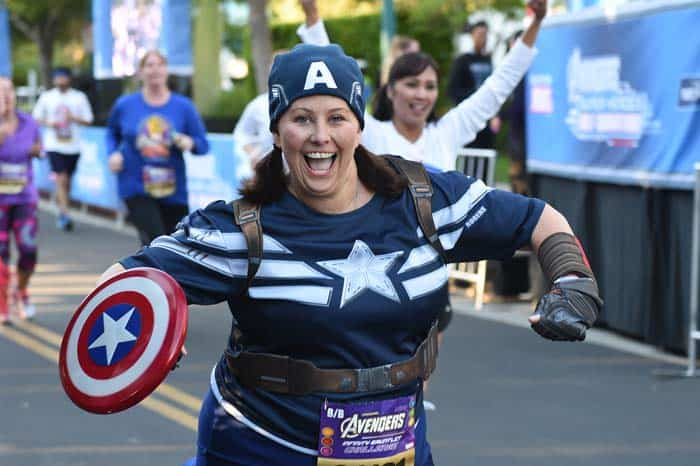 runner as Captain America