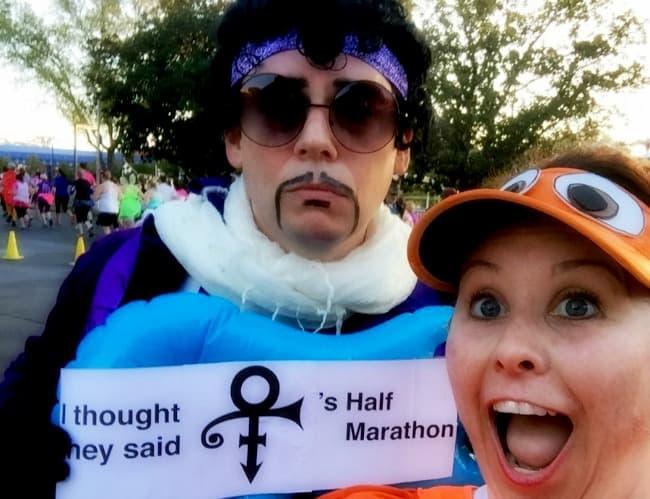 runDisney Character Stops Princes Half Marathon