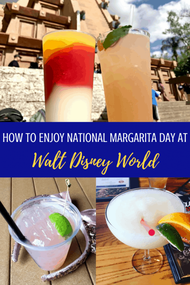 Celebrate National Margarita Day at Disney World February 22. But really- any day could be margarita day at Disney! Best places to get some salt, lime and tequila cocktails. #disneyworld #rundisney #nationalmargaritaday #margaritas