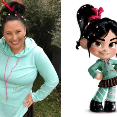 Vanellope running costume