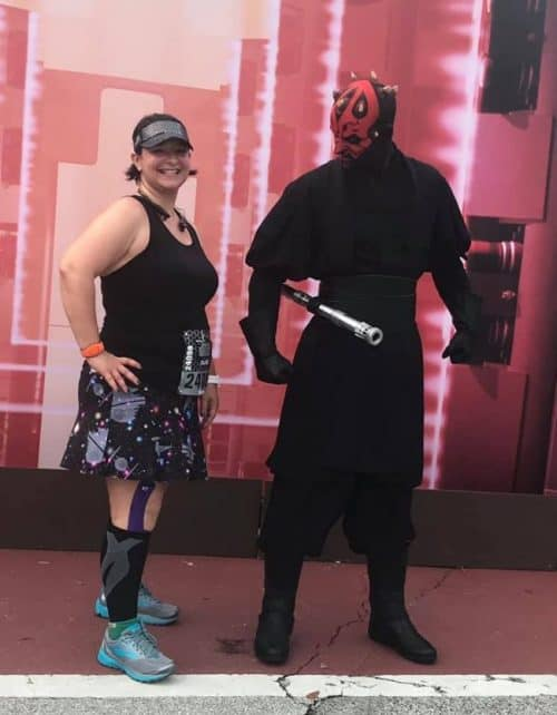 Darth Maul runDisney Star Wars