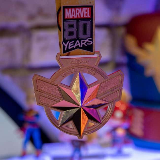 captain marvel medal