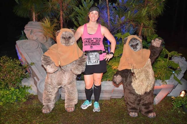 ewoks on runDisney course