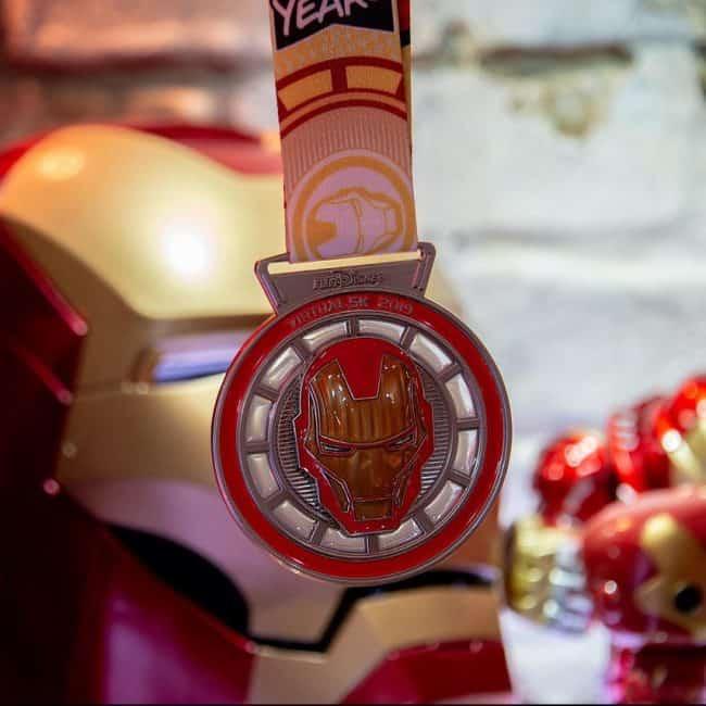 iron man rundisney virtual medal
