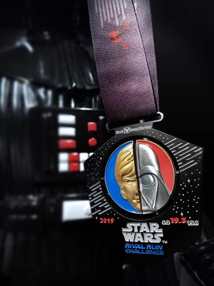 Star Wars Half Marathon rival run challenge medal 2019