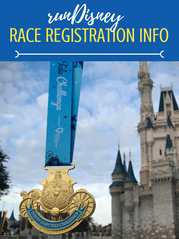 2020-2021 runDisney Registration tips you need! Dates and details to run Disney. Here's what you need to know about the running races at Disney World! Princess Half, Marathon weekend, Wine and Dine and Star Wars races are going on sale soon.