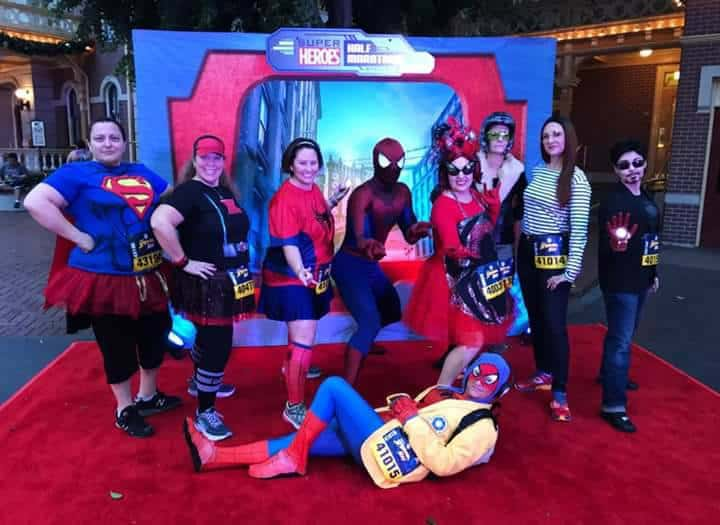 runDisney Spider-Man 5K at Disneyland