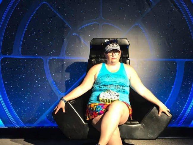 Star Wars emperor's chair runDisney