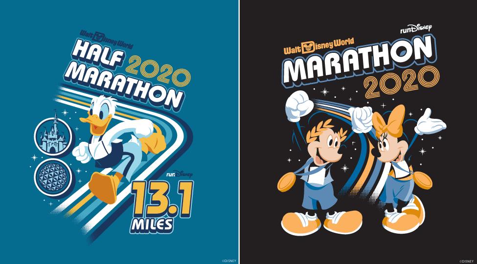 Donald Duck half marathon Minnie and Mickey MArathon