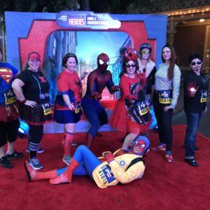 Disneyland runDisney Spider-Man 5K 2017 best runDisney advice