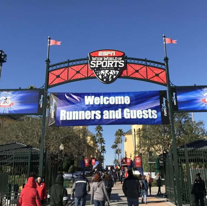 rundisney expo at ESPN WWOS