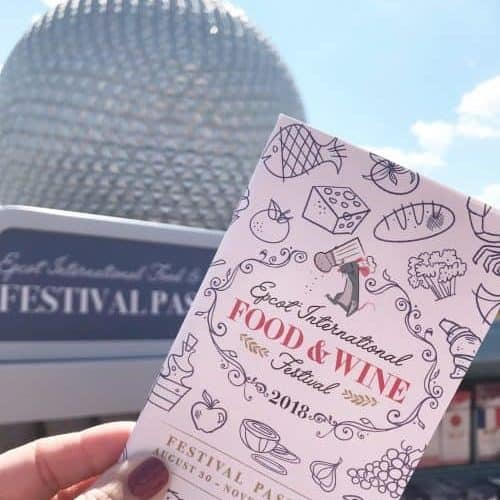 food and wine festival epcot