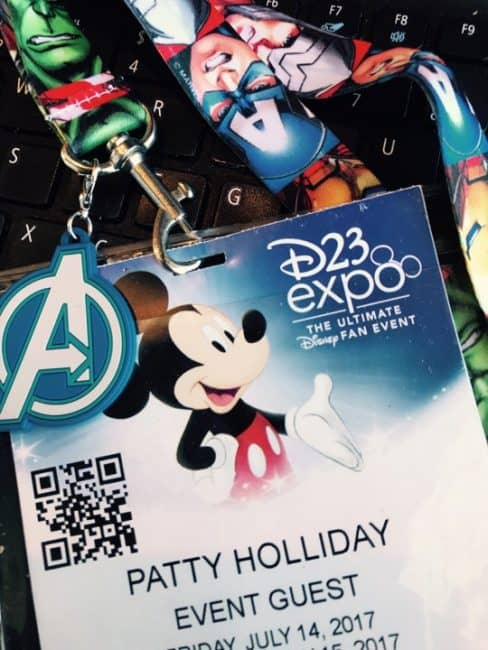D23 Expo badge