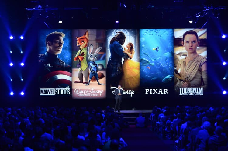 D23 EXPO 2017 movie slate announcements