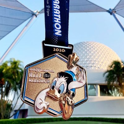 2020 runDisney Walt Disney World Marathon Weekend Medals