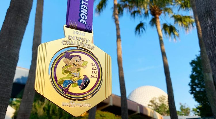 2020 marathon weekend medals dopey