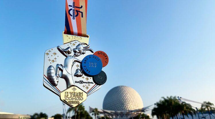 2020 marathon weekend medals goofy