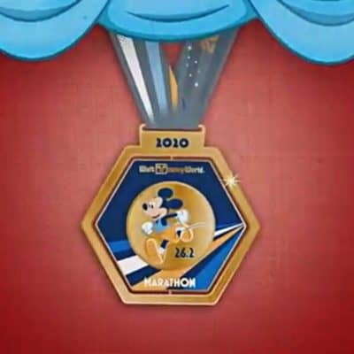 2020 runDisney Walt Disney World Marathon Weekend Medals