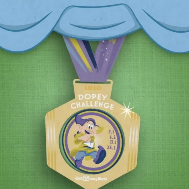 Dopey Medal 2020