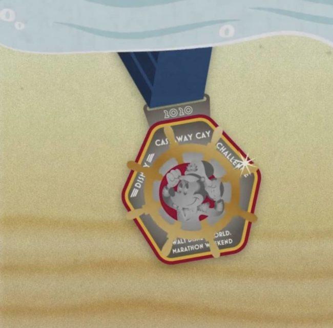 Castaway cay Medal 2020