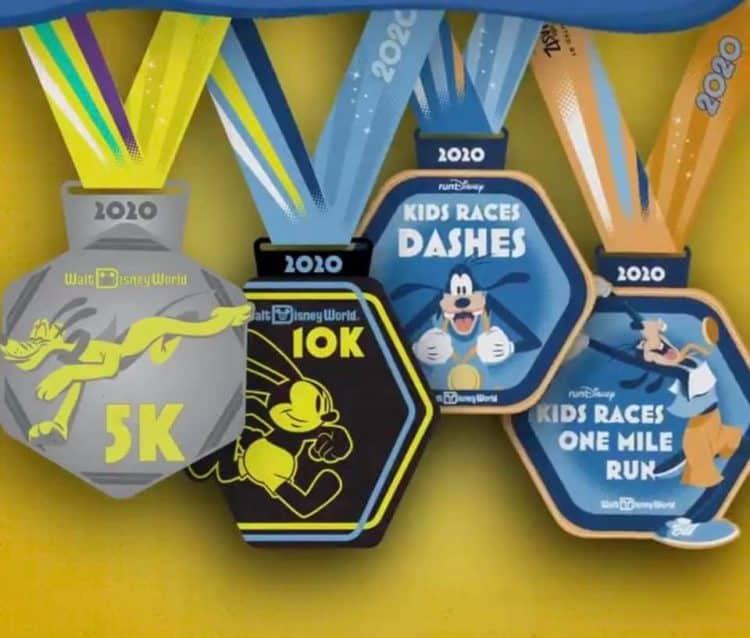 rundisney marathon medals 2019