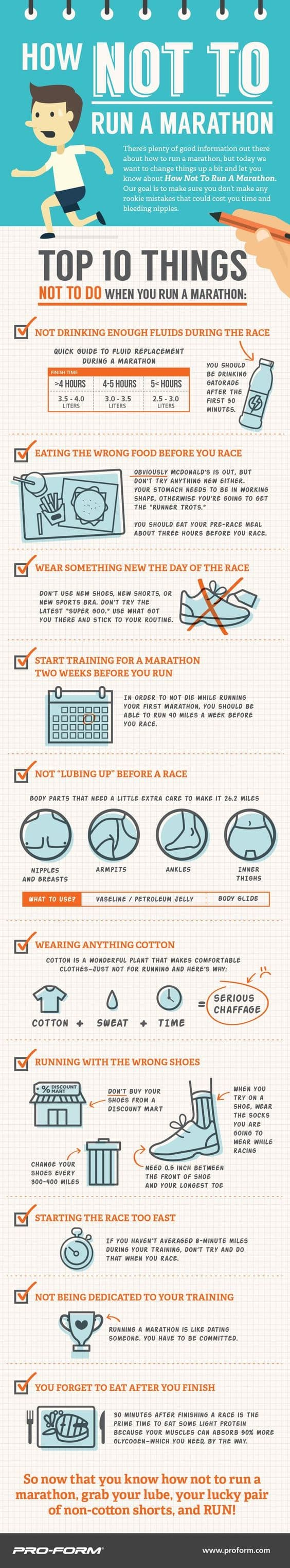 Top 10 List: How NOT to Run The Walt Disney World Marathon