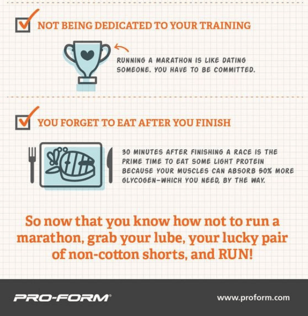 what not to do when training for a marathon