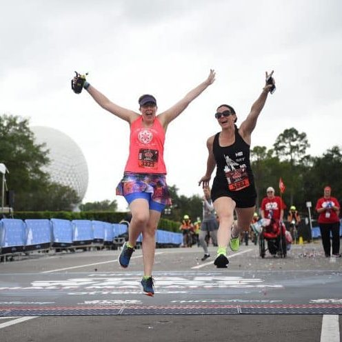 rundisney finish jump star wars