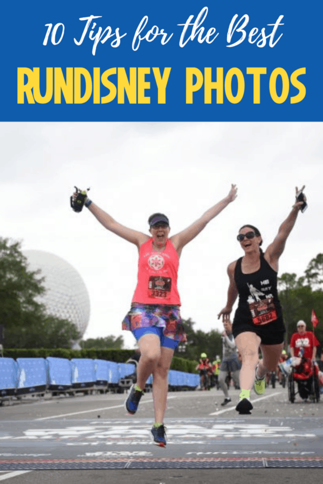 how to get the best rundisney race pictures
