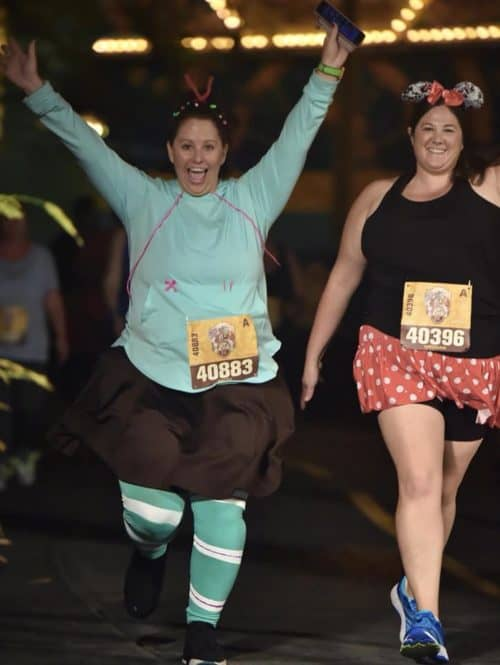 vanellope running costume wine dine half weekend