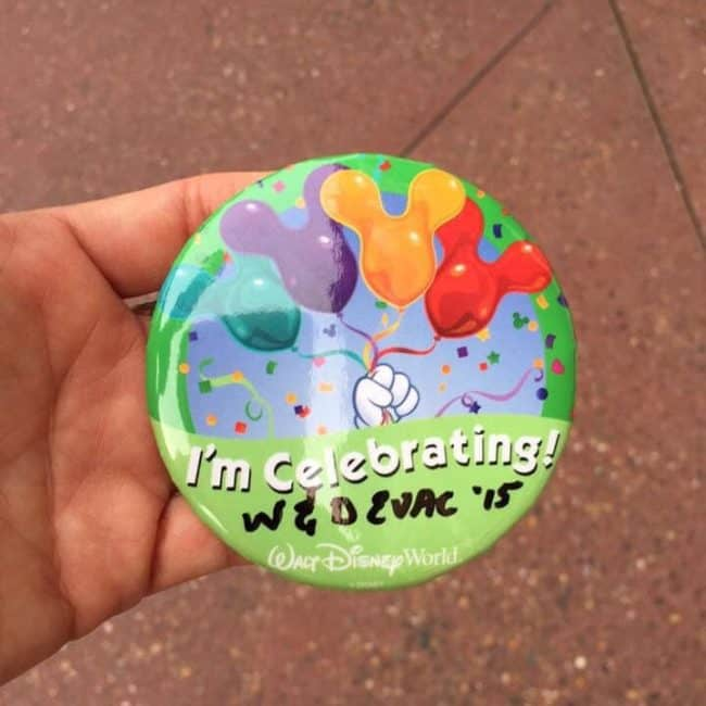 Wine and Dine Half of a Half celebration button