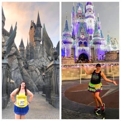 Hogwarts Castle vs Cinderella castle runDisney vs runUniversal