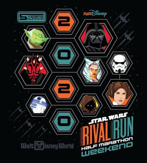 Star Wars Rival Run 2020 Logos