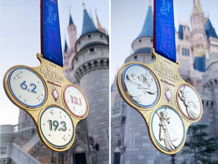 Princess Half Marathon Challenge Medal Fairy Tale Challenge 2020