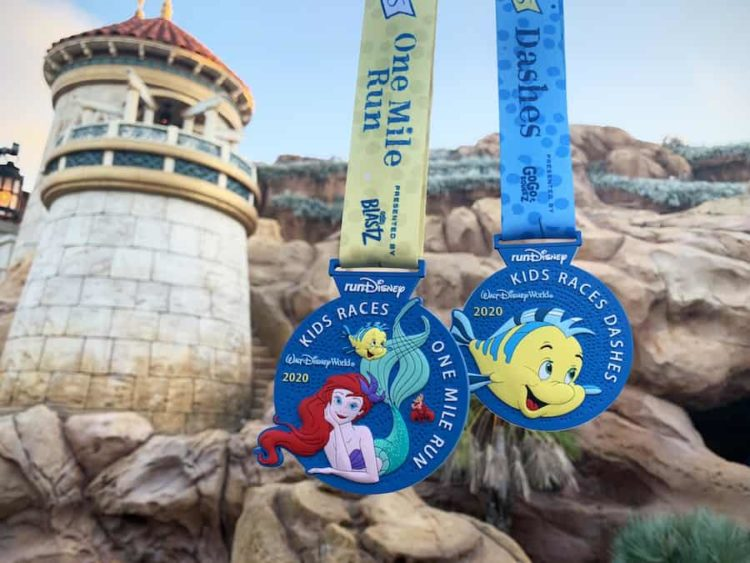 Princess Half Kids Races Medals 2020