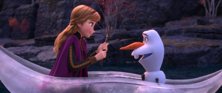 the award for best frozen movie quotes from a snowman goes to